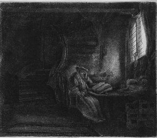 Saint-Jerome-in-a-Dark-Chamber-e1281643630640