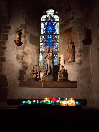 L'Eglise Paroissale Saint Pierre at Le Mont St Michel