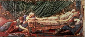 Edward-burne-jones-the-briar-rose-series-4-the-sleeping-beauty-1870-90