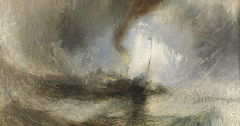 Turner-snow-storm-steam-boat-off-a-harbours-mouth-1842